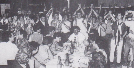 Festeggiamenti al ristorante