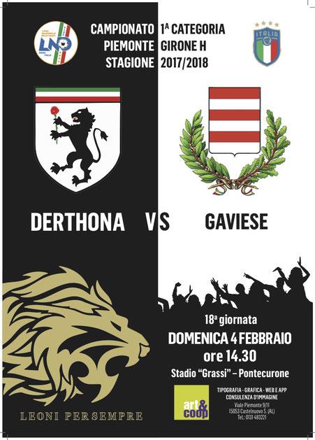 2017/18 HSL DERTHONA - GAVIESE