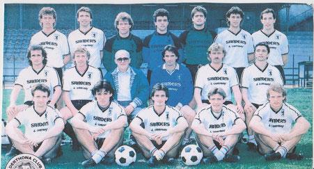 1986-87 La rosa