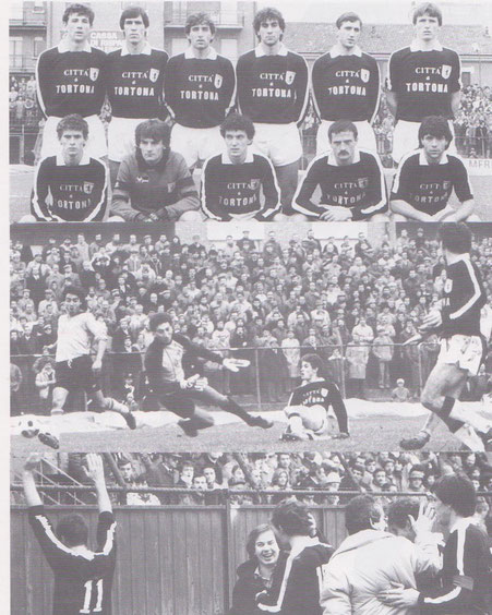 1984-85 Serie C2 Alessandria-Derthona 1-3 (in mezzo il gol di Signoroni)