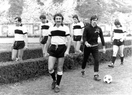 1976 Simoniello, Bonacina, Arcari, Gabbana, Donadel, Gasparella
