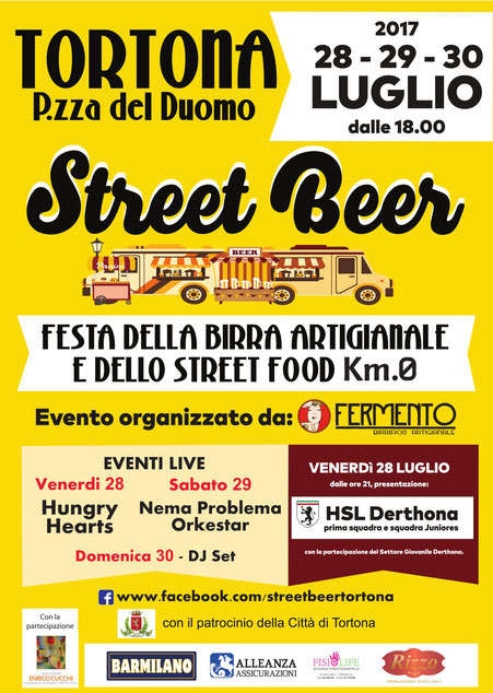 STREET BEER TORTONA