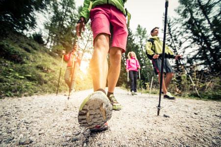 Präventionskurs Nordic Walking