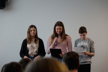 Schülerinnen der »Adolph Diesterweg« Sekundarschule Stendal 2020 (am)