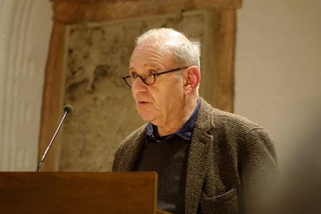 Der Historiker Prof. Dr. Dan Diner spricht über Kollektivgewalt und Gedächtnis 2019 (am)