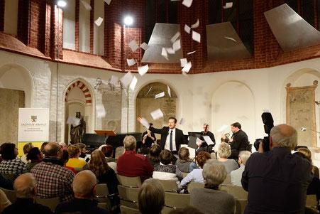 Szenisches Konzert mit Roman Knizka und Opus45 2020 (am)