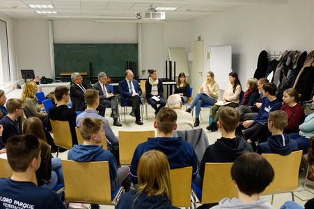 Besuch des Ministerpräsidenten Reiner Haseloff in der Hochschule 2020 (am)