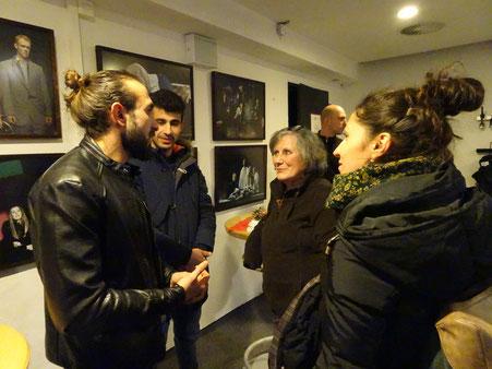 Foyergespräche mit Schauspielern des »theaters MERIDIAN dresden« 2019 (am)
