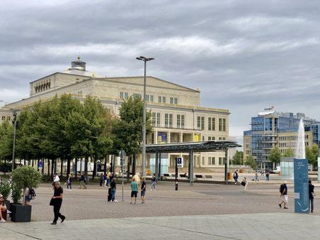 Oper Leipzig am Augustusplatz