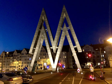 Doppel M - Mustermesse-Logo - Alte Messe Leipzig