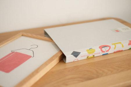 ミヤタタカシ イラストを使ったパッケージ