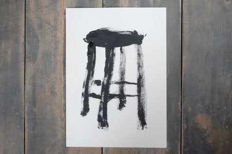ミヤタタカシ アーティストインレジデンス/ドローイング