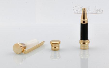 Hardware für SchreibMeister Kugelschreiber aus Holz: Goldfarben