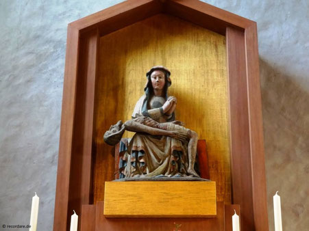 Gnadenbild spätgotische Madonna