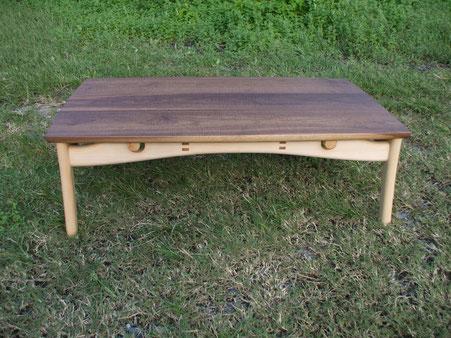 木製コタツ
