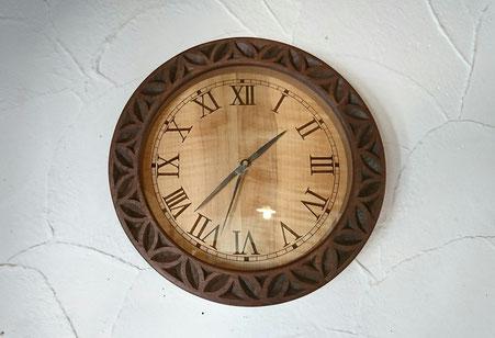 木の時計 クラッシック アンティーク