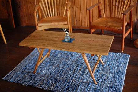 木のテーブル センターテーブル ソファ シンプル