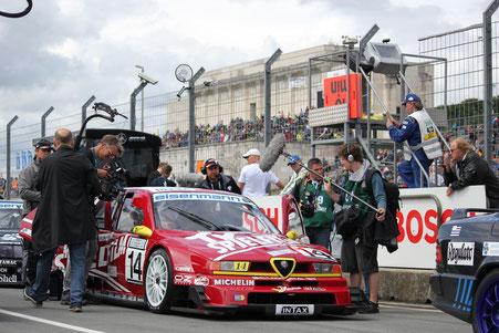 Alfa-155-TI-V6-ITC am Norisring