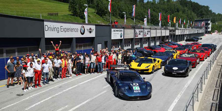 Foitek Ferrari & Maserati Event Salzburgring