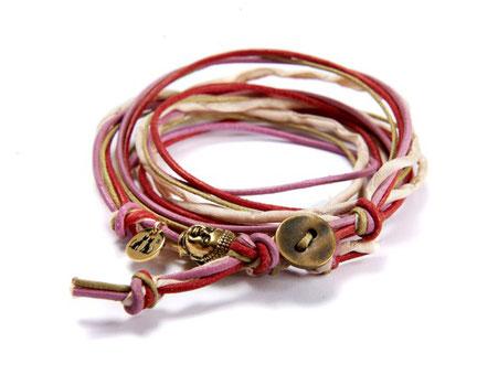 Damen Buddha Wickelarmband