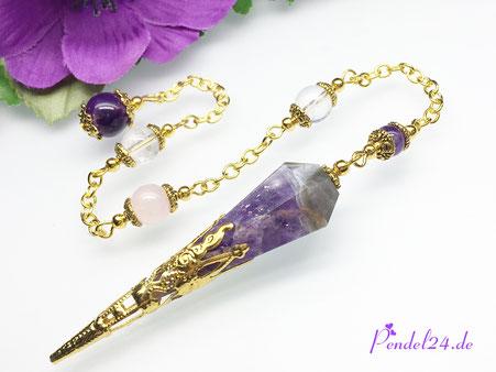 Pendel-Zauber, Pendelshop, Edelsteinpendel exclusive Handarbeit, exclusive Edelsteinpendel, zauberhafte Pendel,