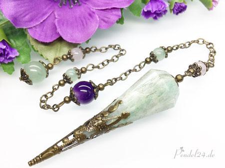 Schutzamulett, Schutz-Amulett, Schamanische Muschel-Amulette, Muschel-Edelstein-Amulette, schamanische Schutzamulette Handarbeit,