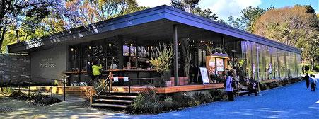 千里南公園内に、昨年、オープンしたカフェ(民営)