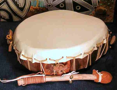 medicine drum lightning drum from Shaman Drums And More