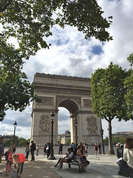 Paris, Arc de Triomphe de l'Étoile