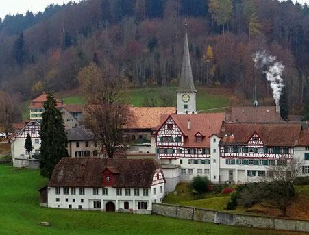 das Kloster Magdenau heute
