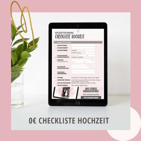 To-Do-Liste-Hochzeit: Gratis Download