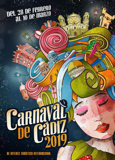 Cartel del Carnaval de Cádiz 2017
