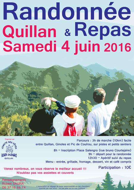 Randonnée pédestre à Quillan - Pyrénées Audoises