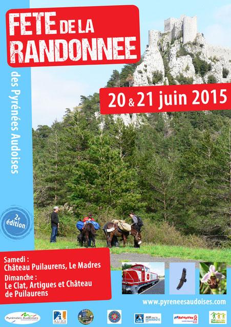 Fête de la Randonnée 2015 - Pyrénées Audoises
