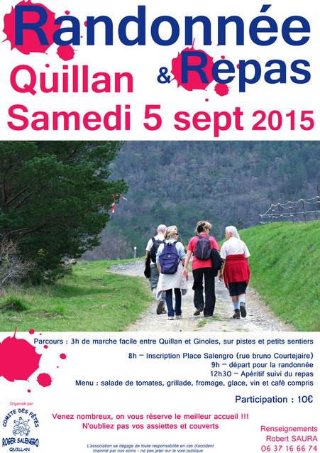 Randonnée pédestre à Quillan - R. Salengro - Pyrénées Audoises