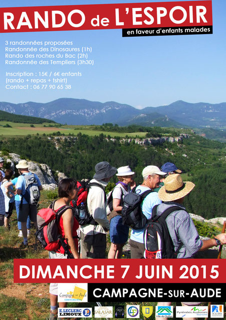 Rando de l'Espoir 2015 à Campagne-sur-Aude