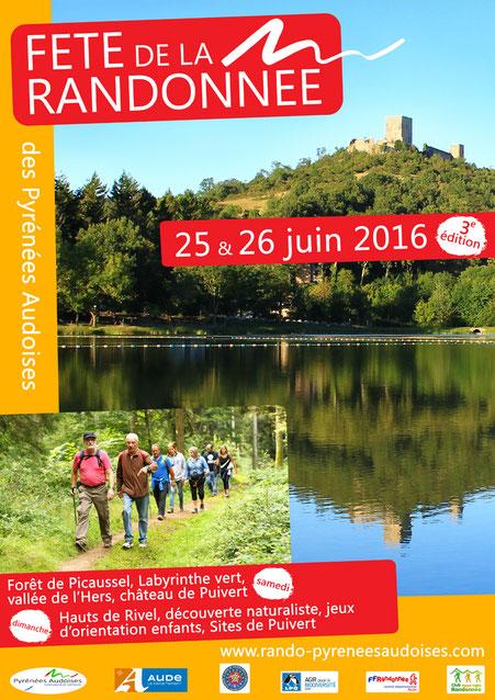 Fête de la Randonnée des Pyrénées Audoises 2016