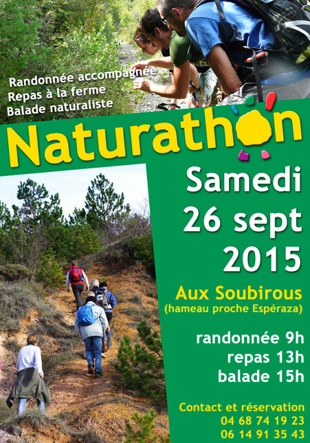 Naturathon 2015 - Ferme des Soubirous