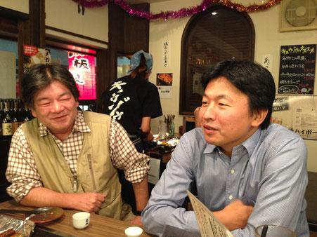 西川勝さん      天田城介さん