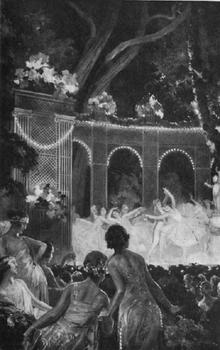 UNE REPRESENTATION DE L'OPERA DE PARIS IMMORTALISEE PAR PIERRE LELONG.