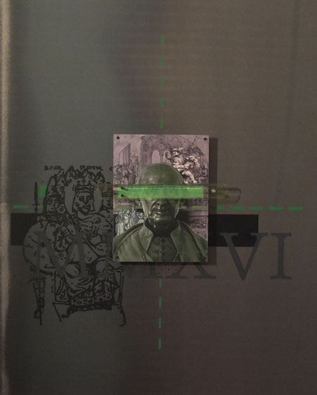 MIXED MEDIA I [100 x 80cm]