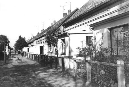 die Glashüttensiedlung um 1950, Quelle: Stadtmuseum Oldenburg