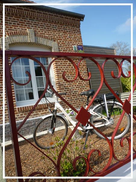 Vélo avec assistance électrique chambres d'hôtes Au Perron de la Baie
