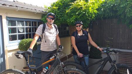 En partant de notre Maison d'hôtes Au Perron de la Baie, accès direct à la véloroute pour la Baie de Somme