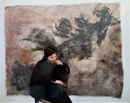 """""""Transformation"""", Exposition à Ivry-sur-Seine, 1995 - Roman Gorski"""