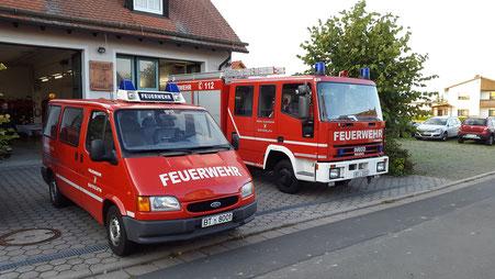Die Fahrzeuge der FF Oberpreuschwitz
