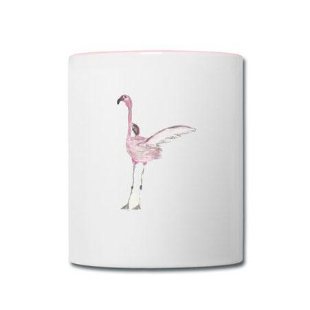 Tasse Flamingo Syelle Beutnagel