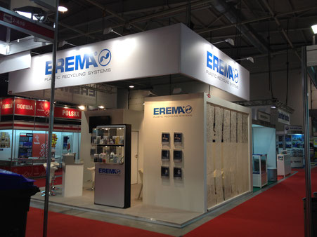 EREMA Plastic Recycling Systems an der Save the Planet 2014 in Sofia