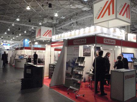 Österreichstand an der POLEKO 2012 in Poznan/PL