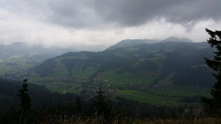 Blick auf Tannheim, Tannheimer Tal